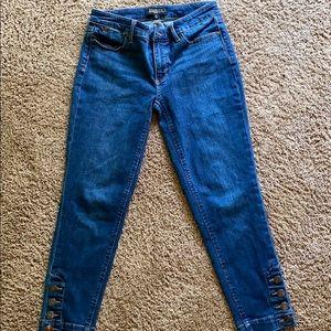 Talbots skinny jeans.